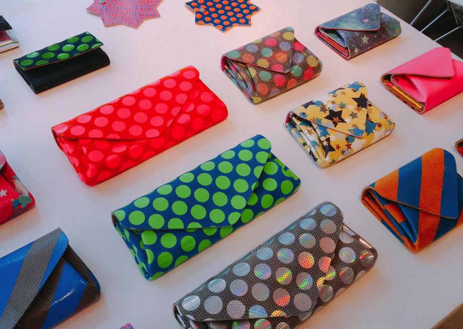 カラフル小物に洗練バッグ♡女性デザイナーが鳥越で作る上質レザーアイテムにひと目惚れ