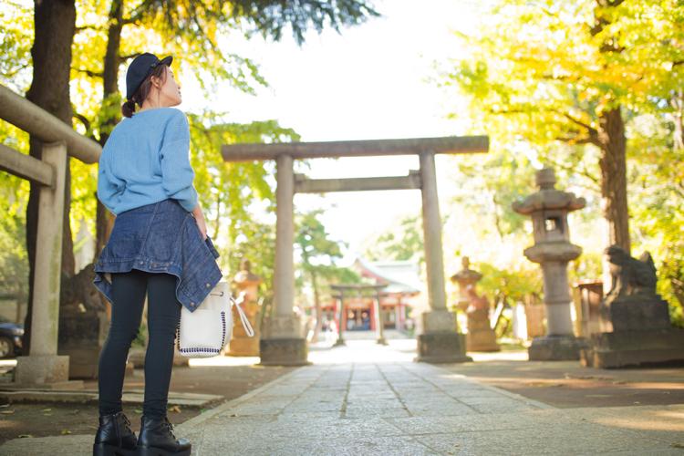 品川神社で金運アップ&東海道の第一宿で見つけたのはかわいい【秋のかき氷】