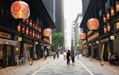 日本橋で日本の夏を満喫!浴衣でそぞろ歩きしたい夕涼みさんぽ