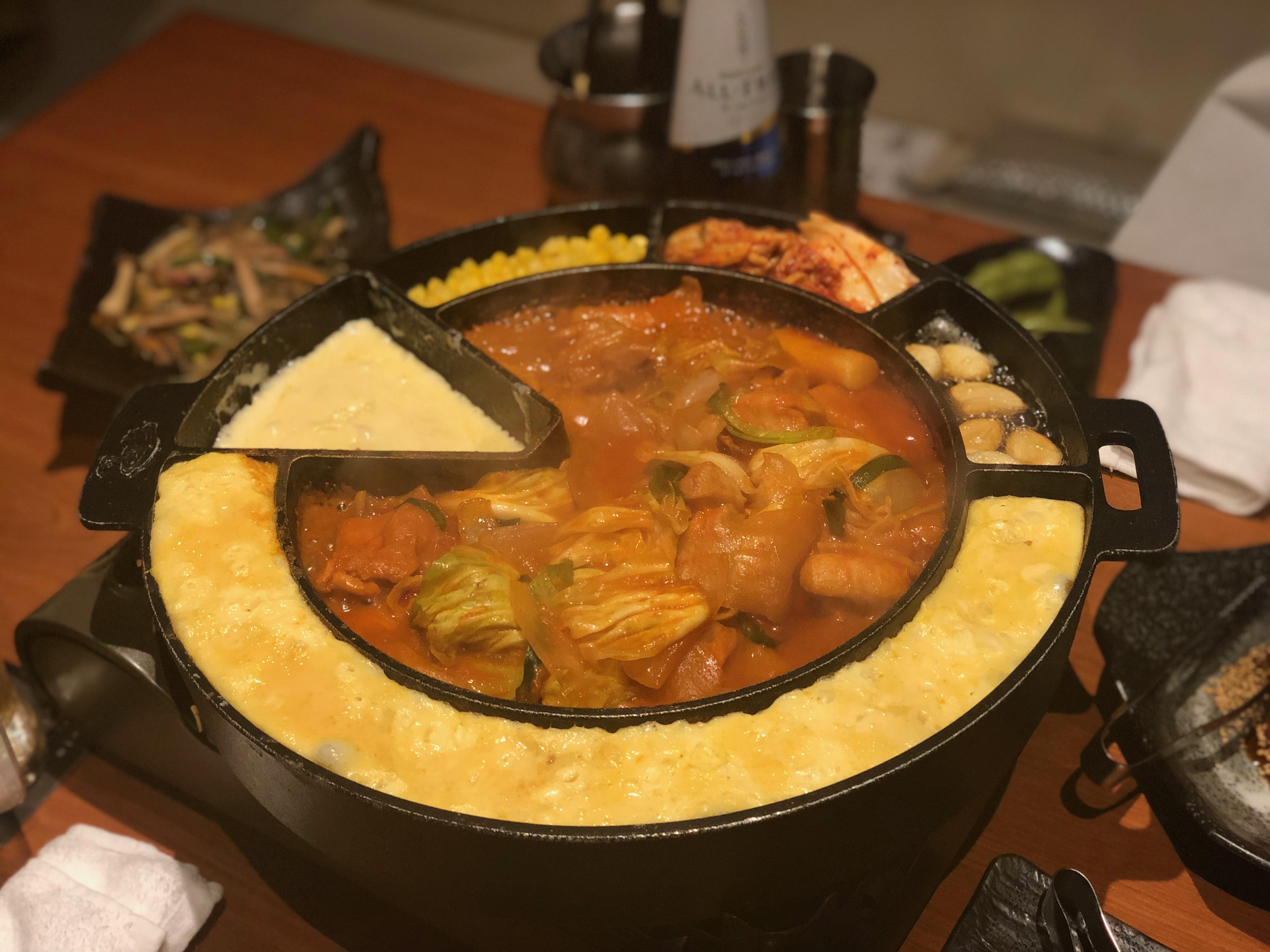 雰囲気の良い麻布十番で鍋デート!?絶品韓国料理を堪能♡